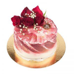 amerikansk tårta röd