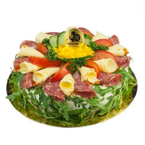 Salami tårta