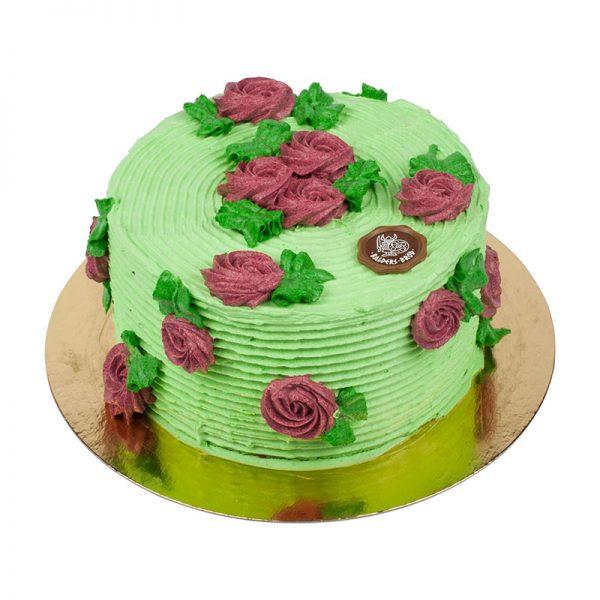 amerikansk tårta grön