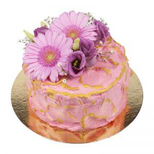 amerikansk tårta rosa guld